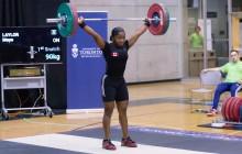 Maya Laylor 90kg Snatch-4