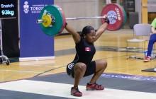 Maya Laylor 93 kg Snatch-2